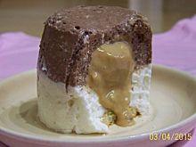 Mini serniczki na zimno z karmelem