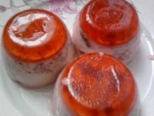 Mini serniczki truskawkowe