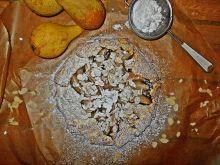 Mini tarta rustykalna z gruszkami