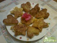Mini tosty z czerstwego chleba