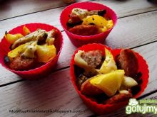 Mini zapiekanki warzywne
