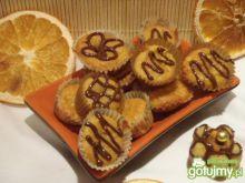 Miniaturowe babeczki mandarynkowe