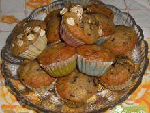 Miniaturowe muffinki bananowe