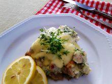 Mintaj na szybko z koperkiem i żółtym serem