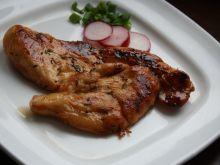 Miodowa pierś z kurczaka z grilla