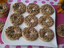 Miodowe ciasteczka z ziarenkami
