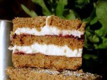 Miodowe ciasto