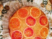 Miodowe ciasto pomarańczowe