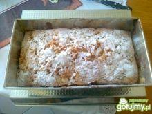 Miodowe ciasto z jabłkami