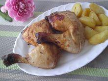Miodowo- musztardowe udka z kurczaka