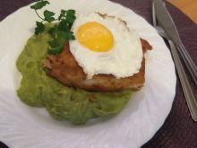 Miruna na brokułowo - ziemniaczanym puree