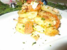 Miruna w warzywach