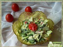 Mix sałat i warzyw do obiadu