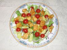 Mix sałat z kurczakiem
