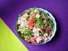 Mix sałat z rzodkiewką i pomidorami