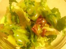Mix sałat z sosem vinegar