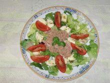 Mix sałat z tuńczykiem i mozarellą