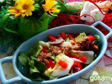 Mix sałat z tuńczykiem -lekko i zdrowo