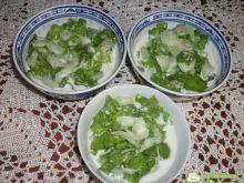 Mizeria ogórkowo- sałatkowa