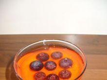 mleczna pianka na kefirze z owocami