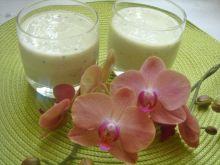Mleczno-jogurtowy koktajl z kiwi i bananem