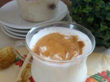 Mleko korzenne z koniakiem