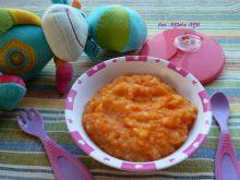 Młoda marchew z ziemniaczkami - dla niemowląt