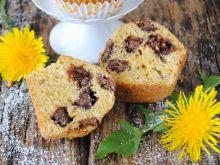 Mniszkowe muffiny z michałkami