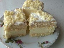 Mocno cytrynowe ciasto