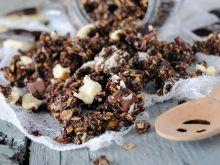 Mocno czekoladowa granola