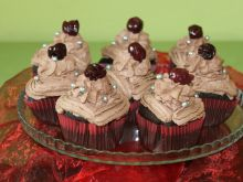 Mocno czekoladowe cupcake