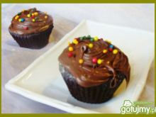 Mocno czekoladowe muffinki