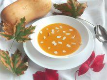 Mocno pikantna zupa z pieczonej dyni