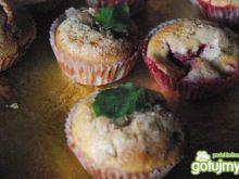 Mocno truskawkowe muffiny