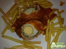 Moj kotlet z jajkiem w środku