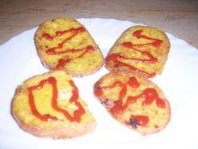 Mój sposób na szybką kolacje jajo-chleb