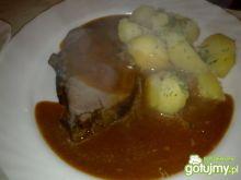Moja biała pieczeń wieprzowa z sosem
