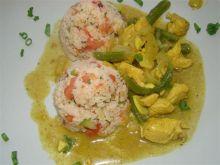 Moja pierwsze indyjskie curry na zielono