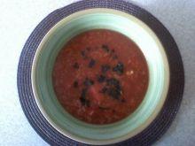 Moja pomidorówka.