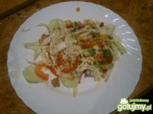 Moja sałatka kebab