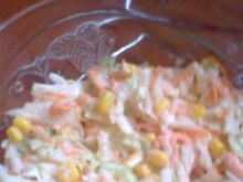 Moja surówka ala Colesław z kukurydzą