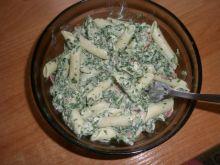 Moja zielona pasta :)