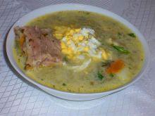 Moja zimowa zupa szczawiowa