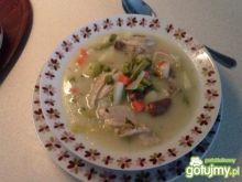 Moja zupa jarzynowa z wkładką