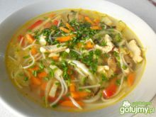 Moja zupa z orientalną nutą