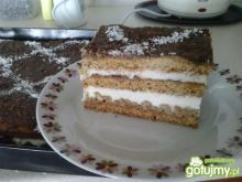 Moje ciasto ala snikers