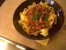 Moje spaghetti bolognese :)
