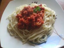Moje spaghetti z mielonym i cukinią