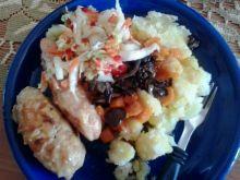 Moje zrazy nadziewane marchewką ogórkiem kiszonym