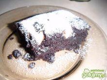 Mokre ciasto kakaowe